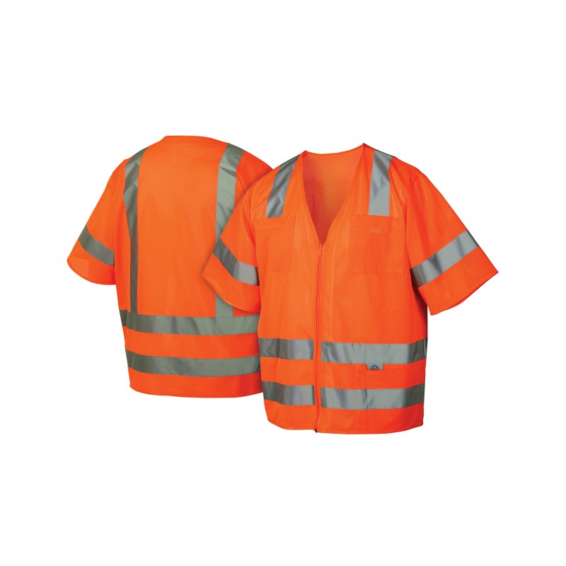 Pyramex Safety - Class 3 Mesh Safety Vest - 1 Each