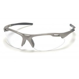 Pyramex  Avante  Gun Metal Frame/Clear Lens  Safety Glasses  12/BX