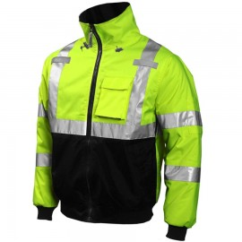 Tingley J26002 Job Sight Bomber Jacket Fluorescent Yellow