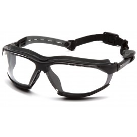 Pyramex Isotope BlackGray Body / Clear H2MAX AF Lens Safety Glasses 12/BX