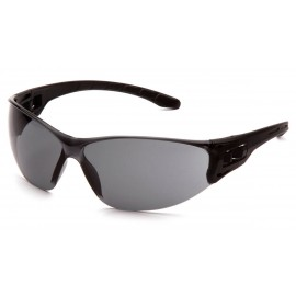 Pyramex Safety - Trulock - Black Frame/ Gray Lens Polycarbonate Safety Glasses - 12 / BX