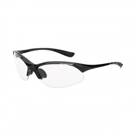 Radians Cobra Clear Black Frame Safety Glasses 12 PR/Box