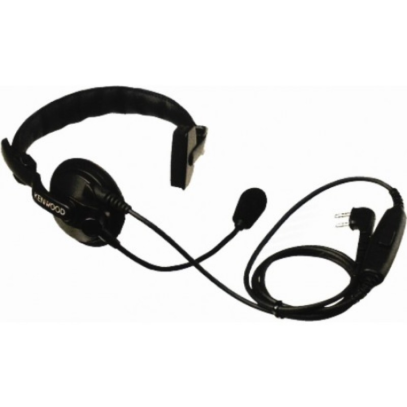 Single Muff Headset with Boom Microphone