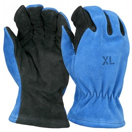 Shelby Cowhide, Gauntlet, CAL-OSHA Structural Fire Gloves 6 Pairs