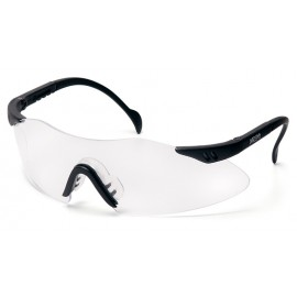 Pyramex Intrepid Black Frame/Clear Lens