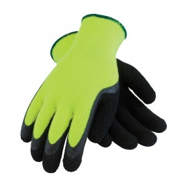Hi-Vis Seamless Terry Glove MicroFinish Grip Glove