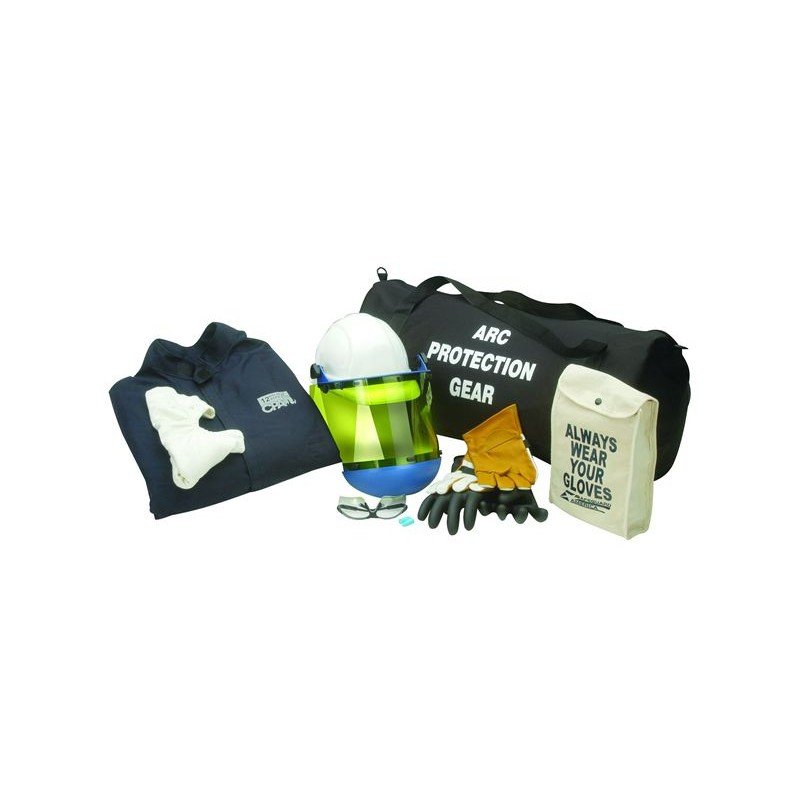 8 CAL Coverall Arc Flash Clothing Kit