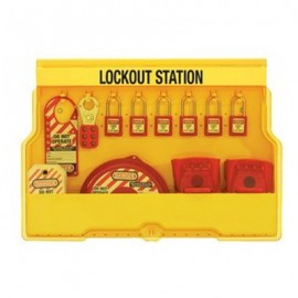 Masterlock Valve Lockout Station