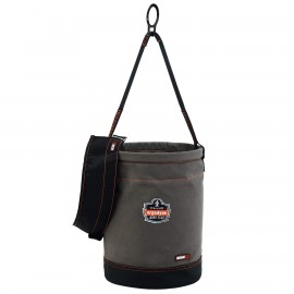 Ergodyne 14860 Arsenal 5960T Canvas Hoist Bucket with D-Rings and Top