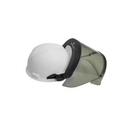 NSA H12HTHAT 12 cal/cm² PureView™ Faceshield with Hard Hat Slotted Adapter