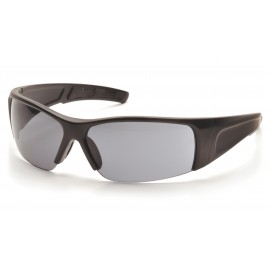Pyramex  PMXTORQ  Matte Black Frame/Gray Lens  Safety Glasses  12/BX