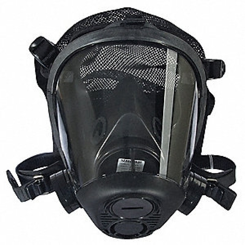Honeywell 753100 Survivair Opti-Fit Tactical Mask Facepiece with Mesh Headnet, Small
