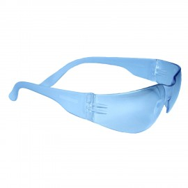 Radians Mirage  Blue Safety Glasses Frameless  Blue 12 PR/Box