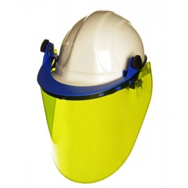CPA Basic 8 CAL Arc Face Shield Kit - YELLOW HARD CAP