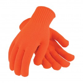 Hi-Vis Seamless Knit Glove - 7 Gauge