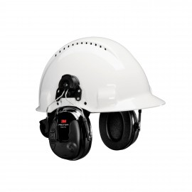 3M™ PELTOR™ ProTac™ III Slim Headset, MT13H220P3E, Black, Hard Hat Model