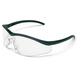 MCR Triwear Safety Glasses with Onyx Frame and Clear Anti-Fog Lens 1/DZ