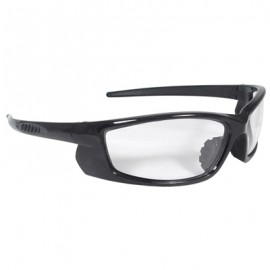 Voltage Safety Glasses - Black Frame, Clear Lens 12 Pairs