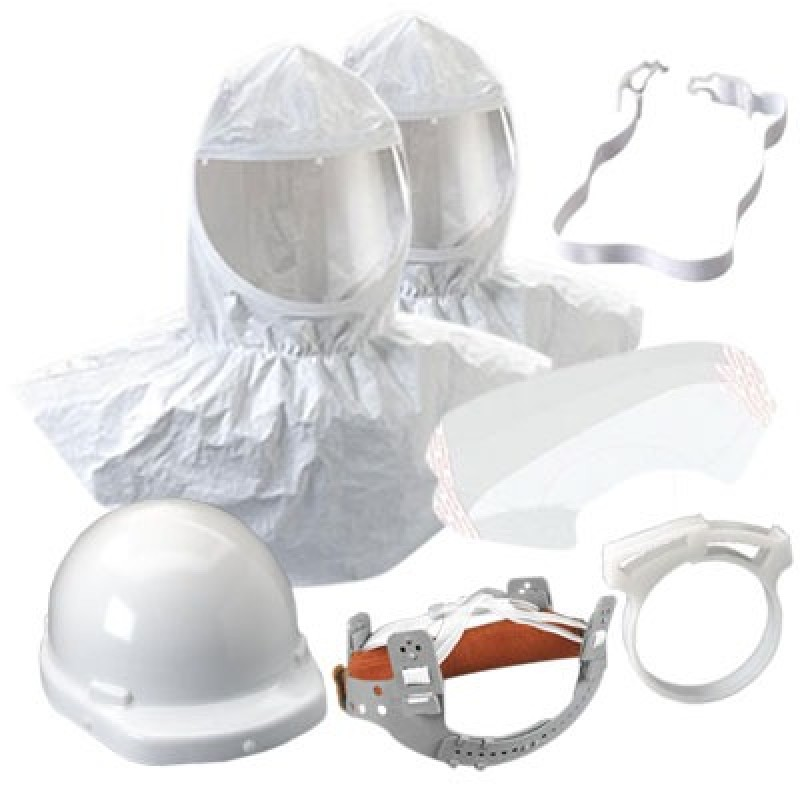 3M™ Hood Assembly H-412/07044(AAD), with Collar and Hardhat