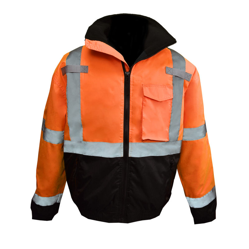 Radians SJ11QB Class 3 Hi-Viz Weather Proof Bomber Jacket