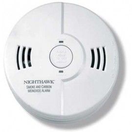Brooks Combination Smoke and Carbon Monoxide Alarm w/ 9V Battery Backup