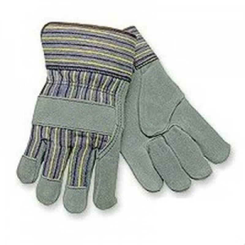 Select Split Leather Insulated Glove-Large