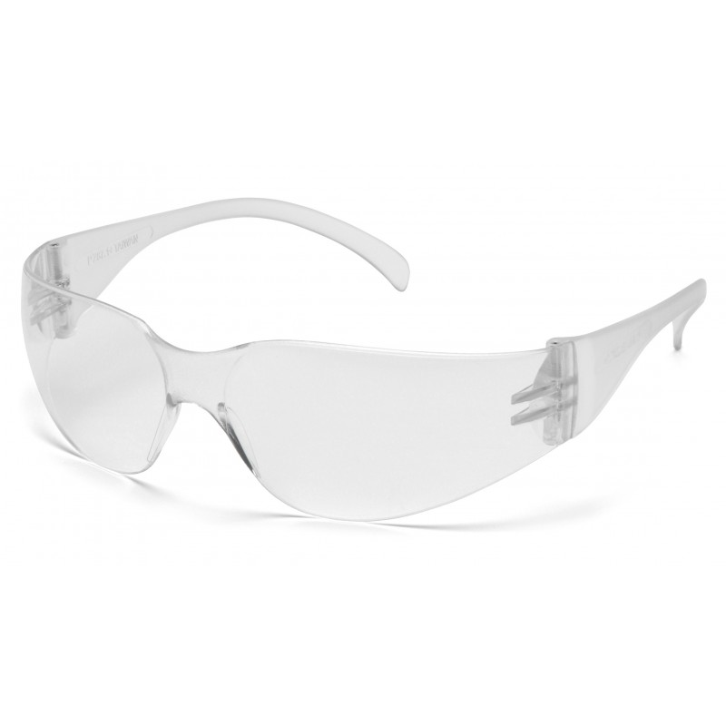 Pyramex Safety - Mini Intruder - Clear Frame/Clear Anti-Fog Hardcoated Lens Polycarbonate Safety Glasses - 12 / BX