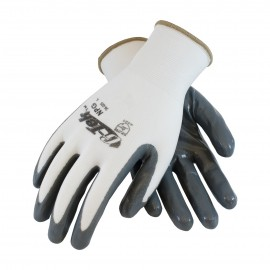 PIP 34-225/XS G-Tek Seamless Knit Nylon Glove with Nitrile Coated Smooth Grip on Palm & Fingers XS 25 DZ