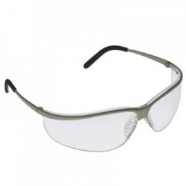 3M™ Metaliks™ Sport Protective Eyewear 11343-10000-20 Clear Anti-Fog Lens, Nickel Frame 20 EA/Case