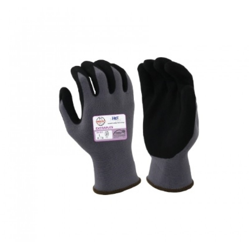 Armor Guys 04-001 ExtraFlex Work Gloves - Gray Color (1 PR)