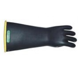 Class 1 Insulating Rubber Gloves with Yellow Lining