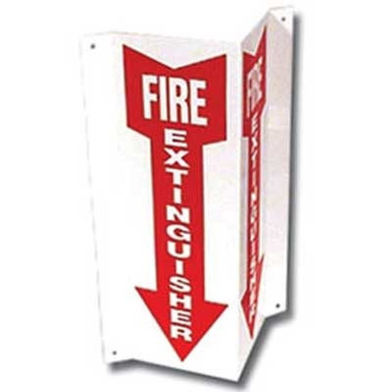 Brooks 3-D Rigid Plastic Angle Sign - 18 in.