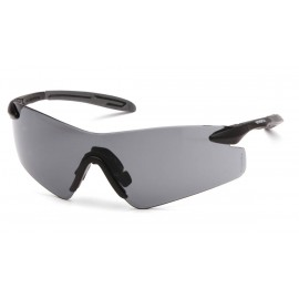 Pyramex  Intrepid II  Black Gray Temples/Gray Lens  Safety Glasses  12/BX