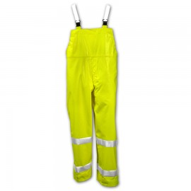 Tingley O53122.SM Comfort-Brite Overall Fluorescent Yellow-Green Snap Fly Front