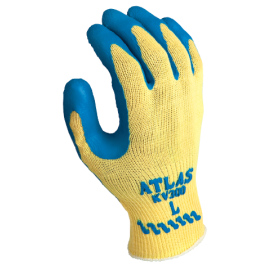 Showa Atlas KV300 Natural Rubber Palm Coating Gloves - 12 Pairs / Box