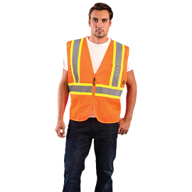 Occunomix Value Mesh Two-Tone Safety Vest | OCCECO-IM2TZ