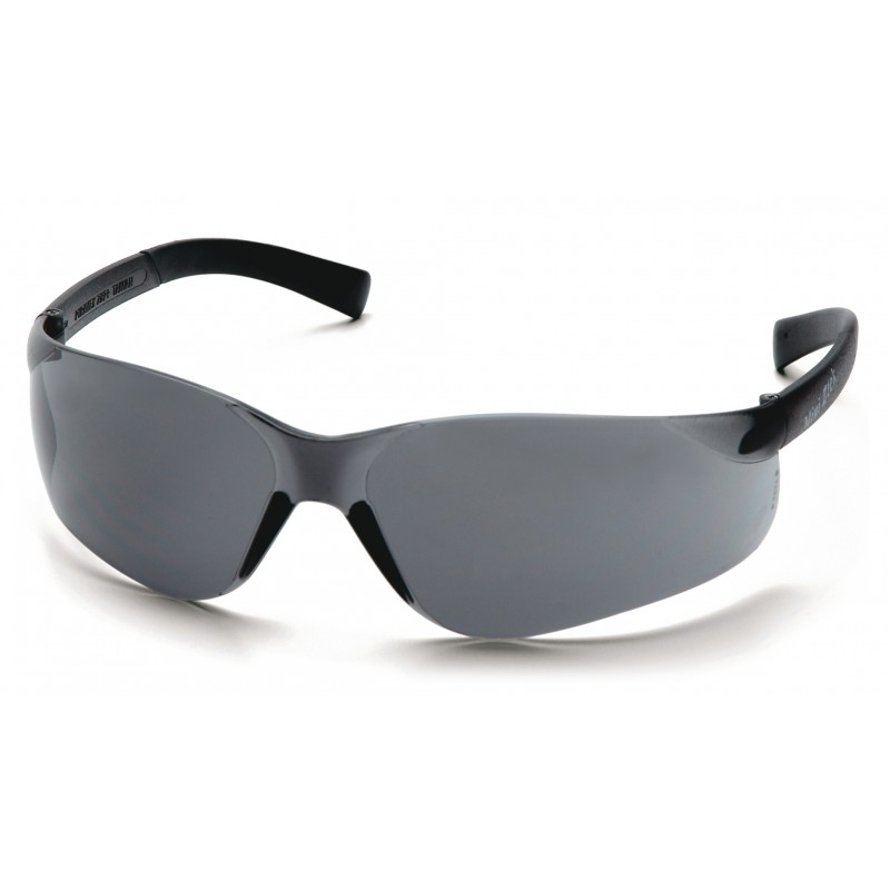 Pyramex Safety - Mini Ztek - Gray Frame/Gray Lens Polycarbonate Safety Glasses - 12 / BX