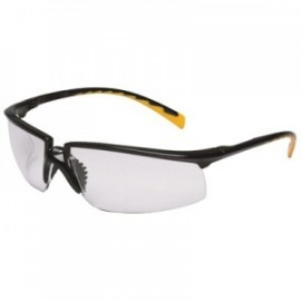 3M™ Privo™ Protective Eyewear 12261-00000-20 Clear Anti-Fog Lens, Black Frame (Case of 20)
