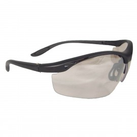 Radians Cheaters - I/O 2.5 bi-focal Safety Glasses Half Frame Style Black Color - 12 Pairs / Box