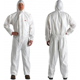3M Disposable Protective Coverall Safety Work Wear 4510-BLK-L 25 EA/Case