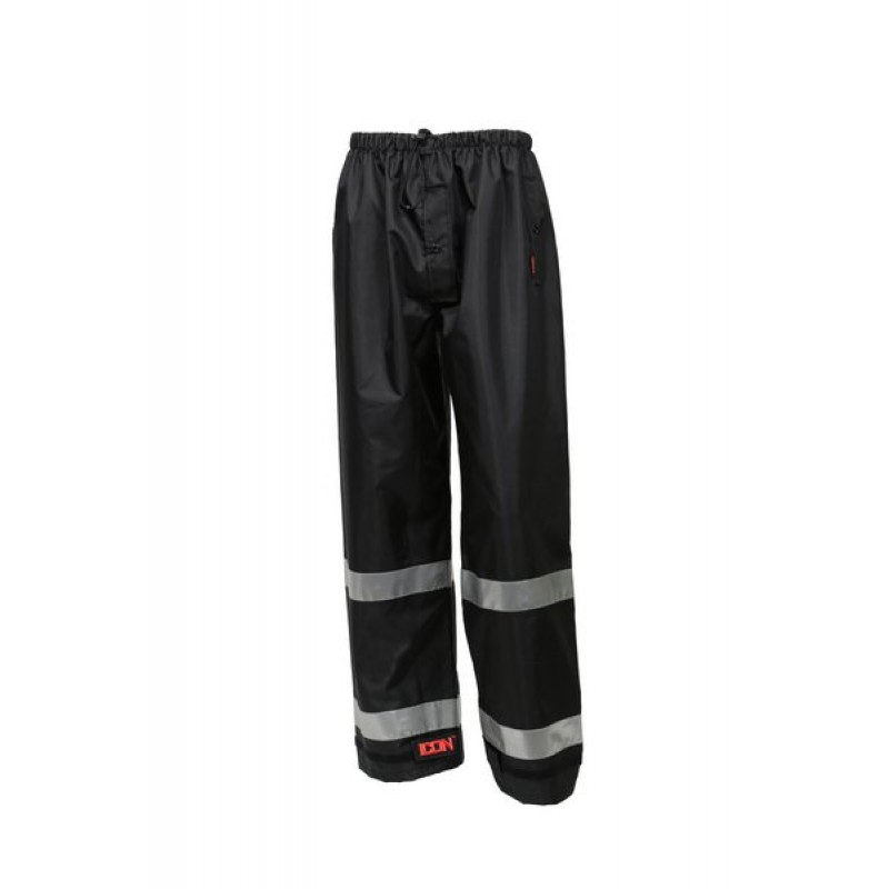 Tingley P24123.4X Icon Pants Black Silver Reflective Tape