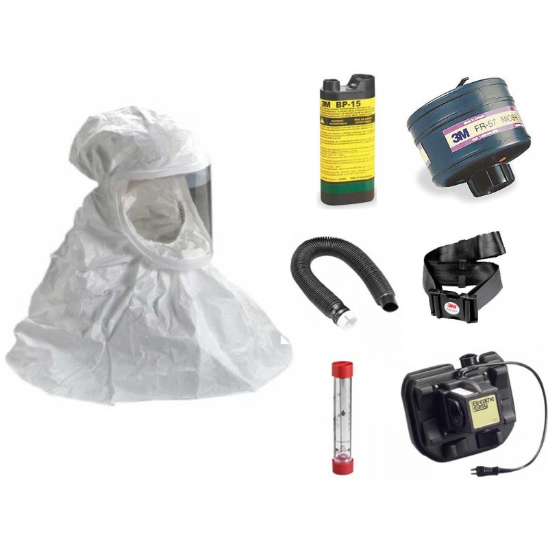 Tychem QC Hood Powered Air Purifying Respirator System - with NiMH Battery