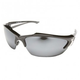 Edge Khor Safety Glasses - Silver Mirror Lens