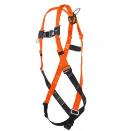 Honeywell Miller TF4507/UAK Titan II T-Flex Harness with Stretchable Webbing