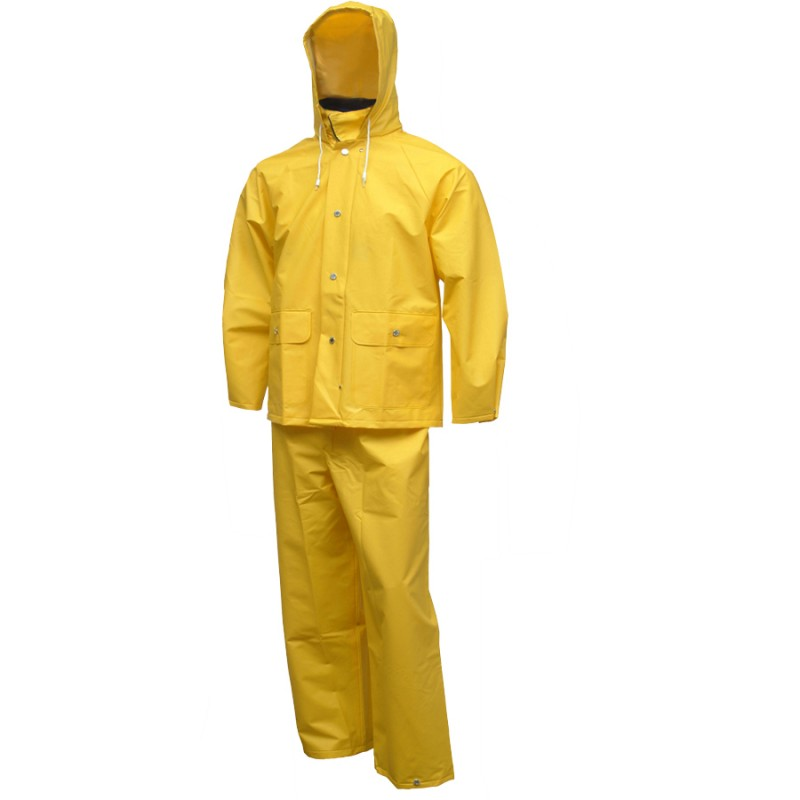 Tingley S63217.MD Comfort-Tuff Suit 2 Pc Jacket with Hood & Fly Front Overalls