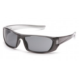 Pyramex  Outlander  Nickel Frame/Gray Lens  Safety Glasses  12/BX