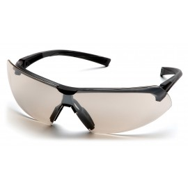 Pyramex  Onix  Black Frame/Indoor/Outdoor Mirror Lens  Safety Glasses  12/BX