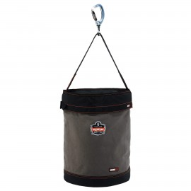 Ergodyne 14845 Arsenal 5945T XL Swiveling Carabiner Canvas Hoist Bucket with Top