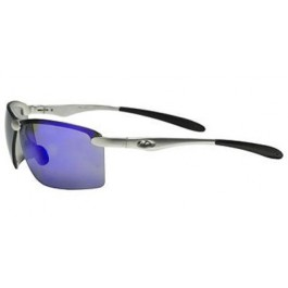 OCC101 Safety Glasses with 1236 Aluminum Frame and Blue Mirror Lens