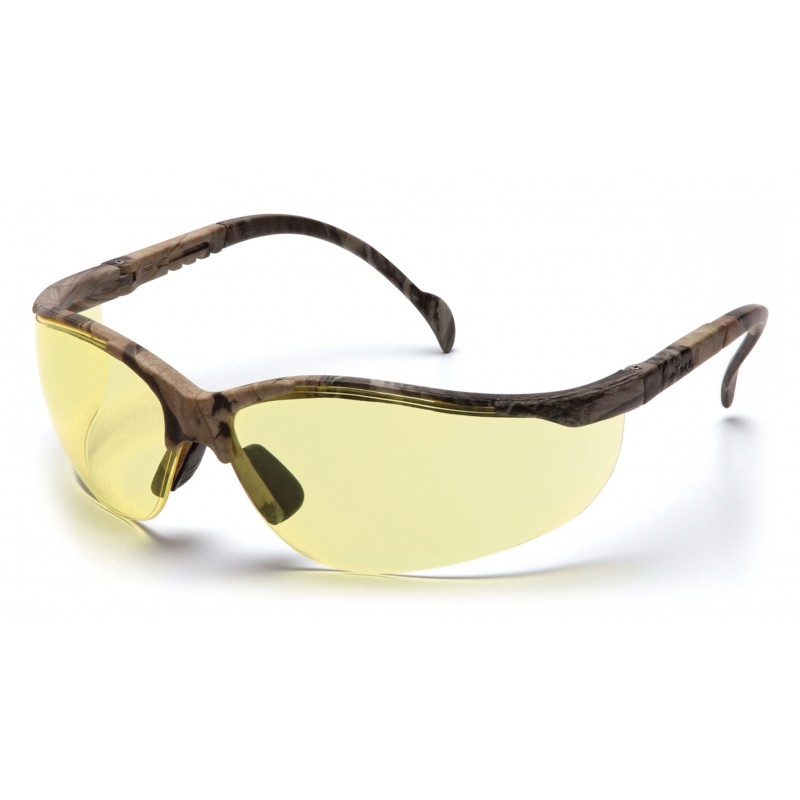 Pyramex Safety - Venture II - Real Tree HW® Frame/Amber Lens Polycarbonate Safety Glasses - 12 / BX